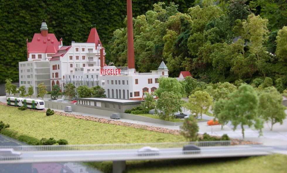 Common rinck modellbau umnutzung alte riegeler brauerei for Produktdesign freiburg
